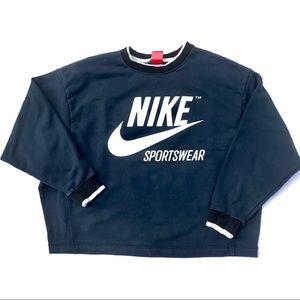 Nike Sportswear Big Logo SpellOut Crewneck Sweater